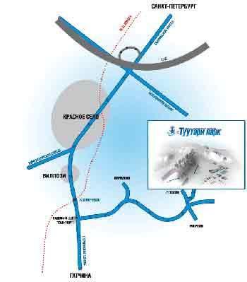 Туутари-парк схема проезда